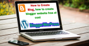 How to create a blog free?